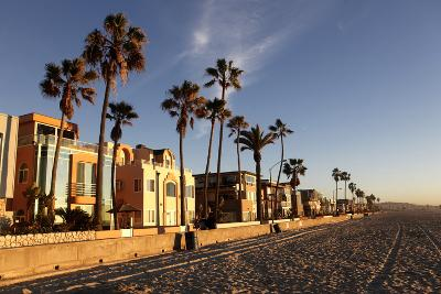 View of Houses in San Diego at Sunset-Jill Schneider-Photographic Print
