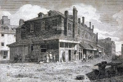 View of Hungerford Market, Westminster, London, C1805--Giclee Print