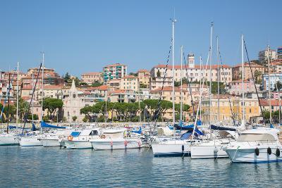 View of Imperia Harbour, Imperia, Liguria, Italy, Europe-Frank Fell-Photographic Print