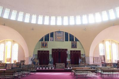 View of Interior of Church of Our Lady Mary of Zion, Axum, Tigray, Ethiopia--Giclee Print