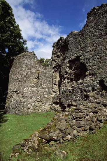 View of Inverlochy Castle, Near Fort William, Inverness-Shire, Scotland, 13th Century--Giclee Print