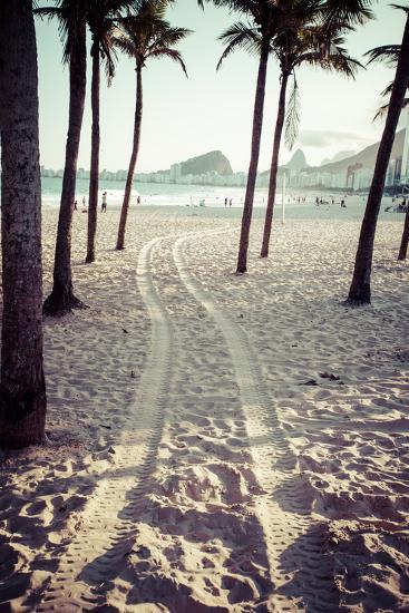 View Of Ipanema Beach In The Evening, Brazil-Mariusz Prusaczyk-Art Print