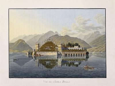 View of Isola Bella, 1811-1819-Mathias Gabriel Lory-Giclee Print