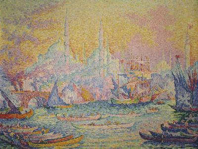 View of Istanbul, 1907-Paul Signac-Giclee Print