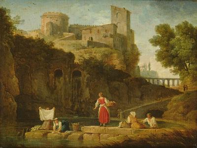 View of Italy-Claude Joseph Vernet-Giclee Print