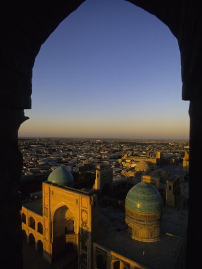 View of Kalyan Mosque,Bukhara, Uzbekistan-Ellen Clark-Photographic Print