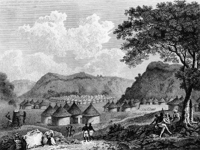 View of Kamalia Village from 'Travels in the Interior Districts of Africa', 1799-Mungo Park-Giclee Print