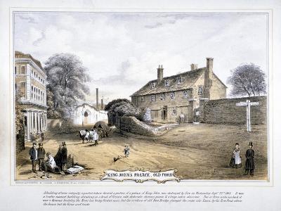 View of King John's Palace, Old Ford, Poplar, London, C1863-C Coghlan-Giclee Print