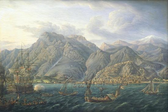 View of Kotor by Jb Genillion, Montenegro 16th Century--Giclee Print