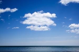 View of Lake Michigan at Harrington Beach State Park