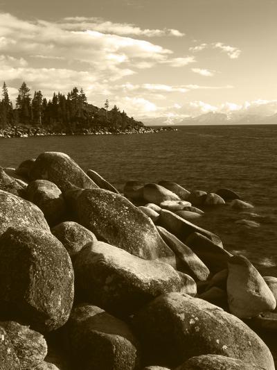 View of Lake Tahoe, Lake Tahoe Nevada State Park, Nevada, USA-Adam Jones-Photographic Print