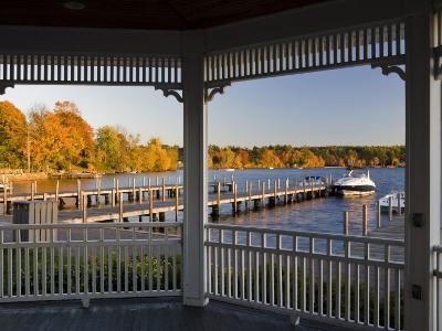 View of Lake Winnipesauke, Wolfeboro, New Hampshire, USA-Jerry & Marcy Monkman-Photographic Print