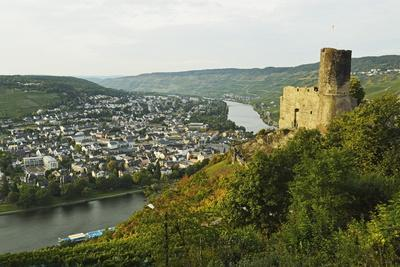 View of Landshut Castle Ruins-Jochen Schlenker-Photographic Print