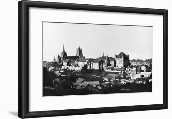 View of Lausanne, circa 1856-60- Bisson Freres Studio-Framed Giclee Print