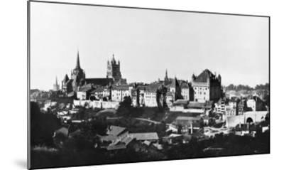 View of Lausanne, circa 1856-60- Bisson Freres Studio-Mounted Giclee Print