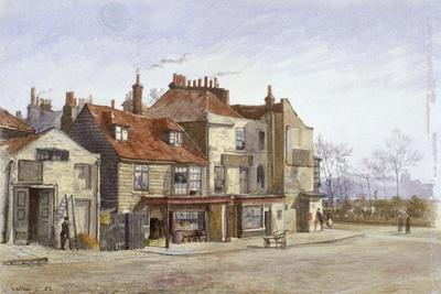 View of Lawrence Street, Chelsea, London, 1882-John Crowther-Giclee Print
