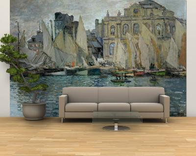 View of Le Havre, 1873-Claude Monet-Wall Mural – Large
