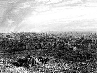 View of Leeds, Yorkshire, Early 19th Century--Giclee Print