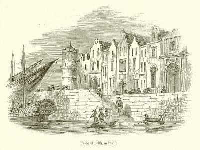 View of Leith, in 1650--Giclee Print