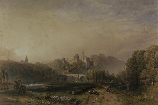 View of Lismore Castle During the 6th Duke of Devonshire's Alterations-Samuel Cook-Giclee Print