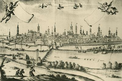 View of Lodi, 1720, from a Drawing by Friedrich Bernhard Werner--Giclee Print