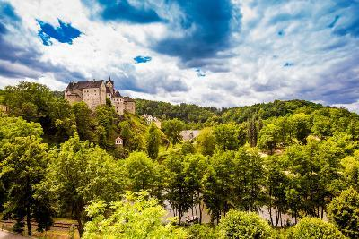 View of Loket Castle in the Countryside of the West Bohemian Spa Triangle Outside of Karlovy Vary-Laura Grier-Photographic Print