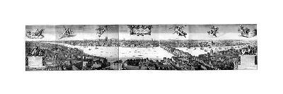 View of London, C1650-Wenceslaus Hollar-Giclee Print