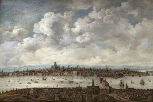 View of London from Southwark, 1640-60