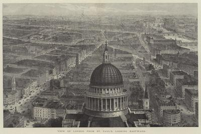 View of London from St Paul's, Looking Eastward-Thomas Sulman-Giclee Print