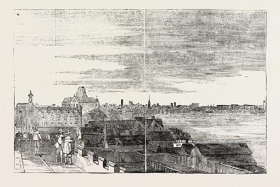 View of London from the Roof of Arundel House Uk 1646--Giclee Print