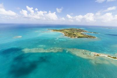 View of Long Island One of the Most Undisturbed in the World, Antigua, Leeward Islands, West Indies-Roberto Moiola-Photographic Print