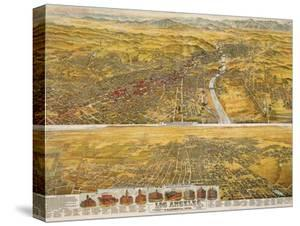 View Of Los Angeles, 1894