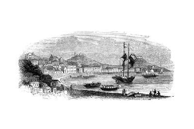 View of Macao, 1847-Giles-Giclee Print