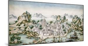 View of Macao, Late 18th Century, Chinese School