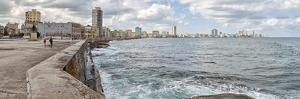 View of Malecon from San Salvador de la Punta, Havana, Cuba