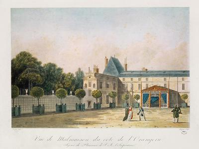 View of Malmaison from the Orangery, Engraved by Nicolas Chapuy, C.1810S-Antoine Pierre Mongin-Giclee Print