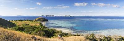 View of Mana Island, Mamanuca Islands, Fiji-Ian Trower-Photographic Print