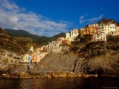View of Manarola, Cinque Terre, Italy-Alison Jones-Photographic Print
