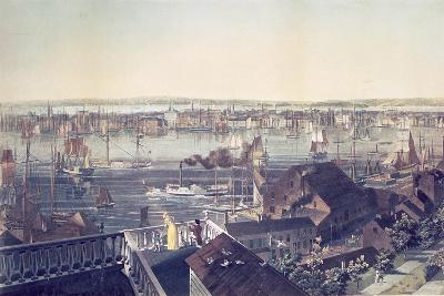 View of Manhattan from Brooklyn, 1837--Giclee Print