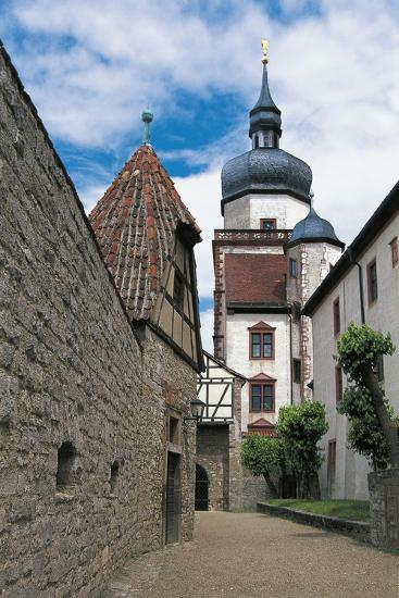 View of Marienberg Fortress, Wuerzburg, Bavaria, Germany--Giclee Print