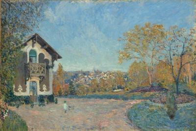 View of Marly-le-Roi from Coeur-Volant, 1876-Alfred Sisley-Giclee Print
