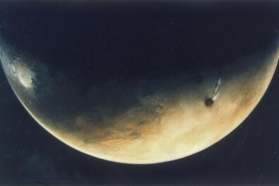 View of Mars, August 1976--Giclee Print