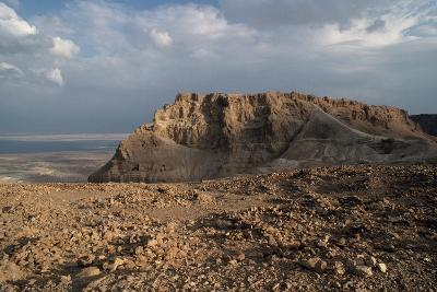 View of Masada--Photographic Print