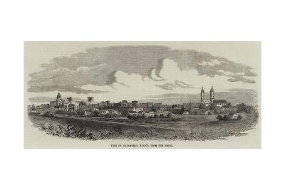 View of Matamoras, Mexico, from the South--Giclee Print