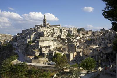 View of Matera from the Church, Matera, Basilicata, Italy, Europe-Olivier Goujon-Photographic Print