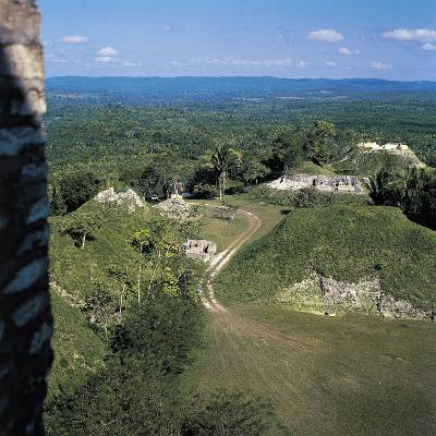 View of Mayan Ruins at Xunantunich, Belize, 3rd-10th Century--Giclee Print
