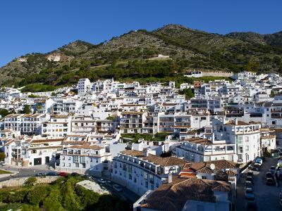 View of Mijas, White Town in Costa Del Sol, Andalusia, Spain-Carlos S?nchez Pereyra-Photographic Print