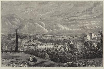 View of Milford Haven from Hakin--Giclee Print