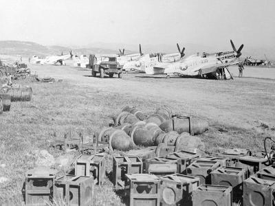 View of Military Armament Field--Photographic Print