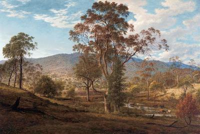 View of Mills Plains, Van Diemen's Land, 1833-John Glover-Giclee Print
